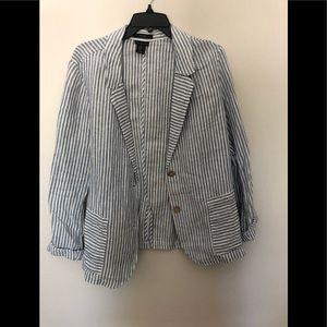 Tahari - Linen blazer